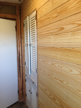 Adding Shiplap Wall