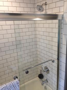 Finished shower