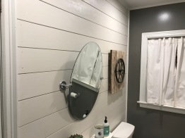 Finished look in the Master Bath.