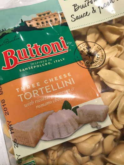 This pasta can be found in the refrigerated section of the deli.