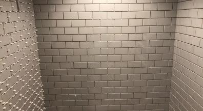 Three walls...