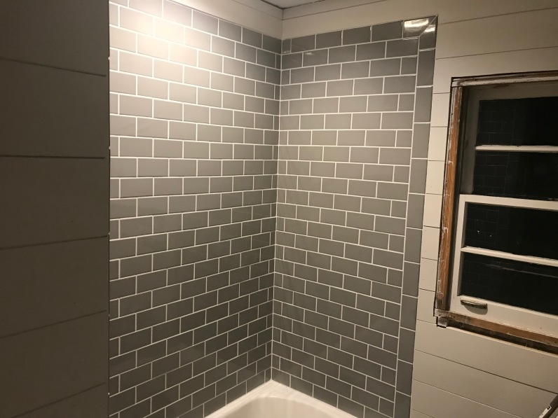 Grout work