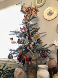 A birds and squirrels tree for Jackie & Jo.